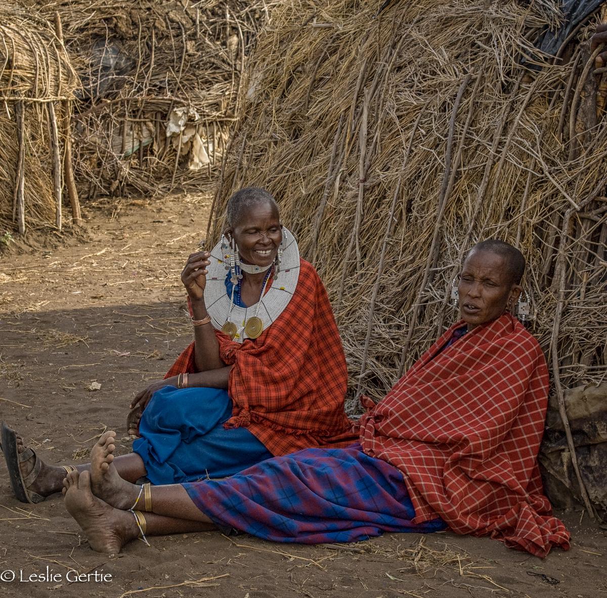 Masai Women-Ngorongoro-3035