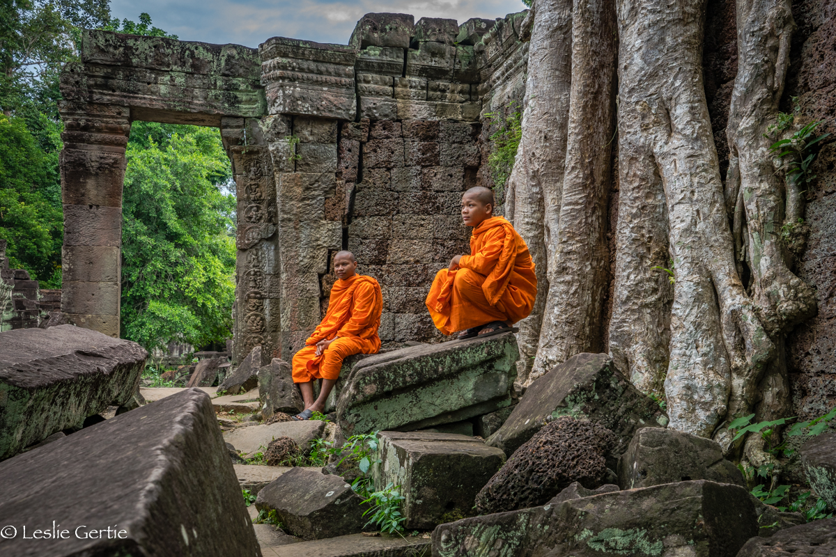 Monks @ Preah Khan-9015