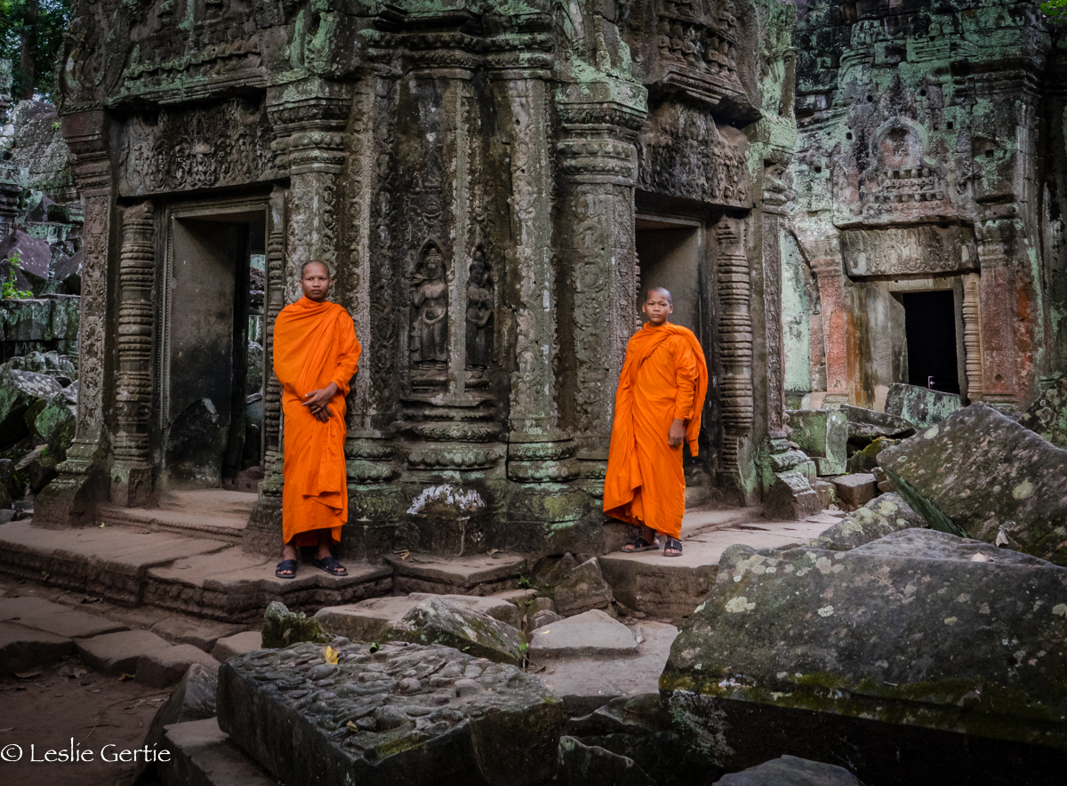 Monks @ Ta Prohm-9329