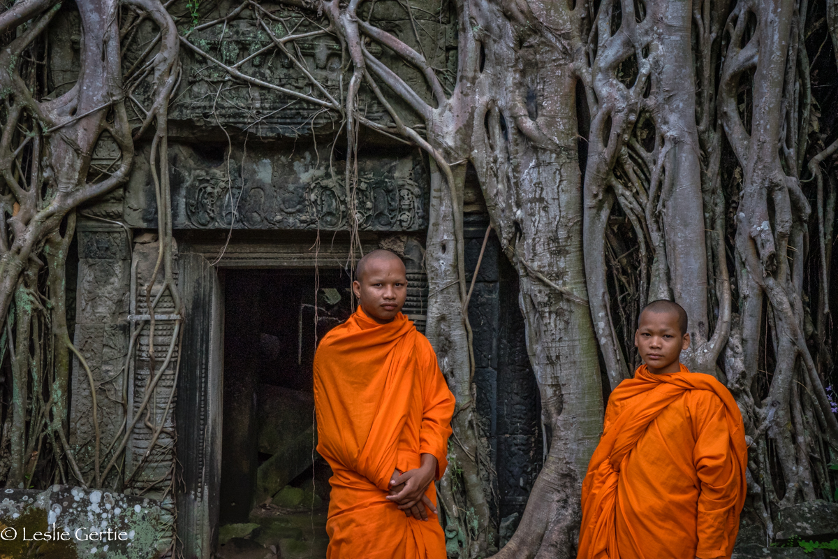Monks @ Ta Prohm-9426