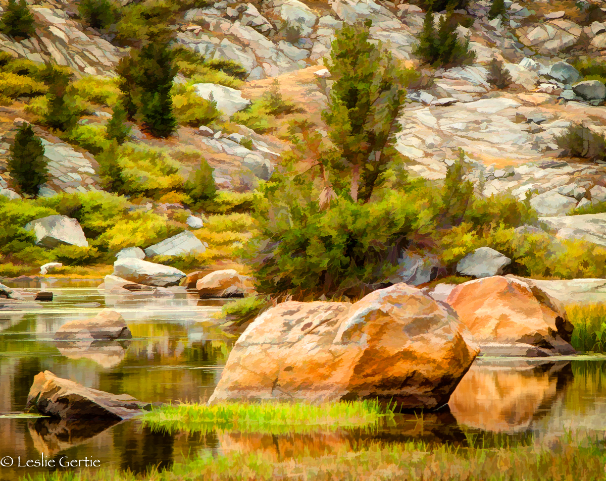 Sierra Stillness-9 Painterly