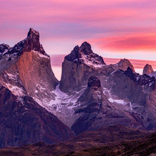 The Horns in Torres del Paine @ Sunrise-933