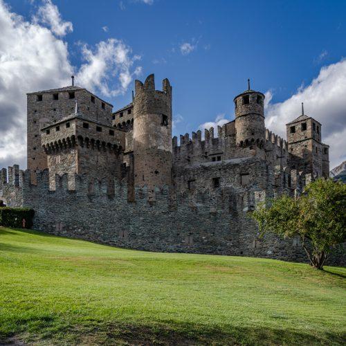 Fenis Castle, Italy-2244