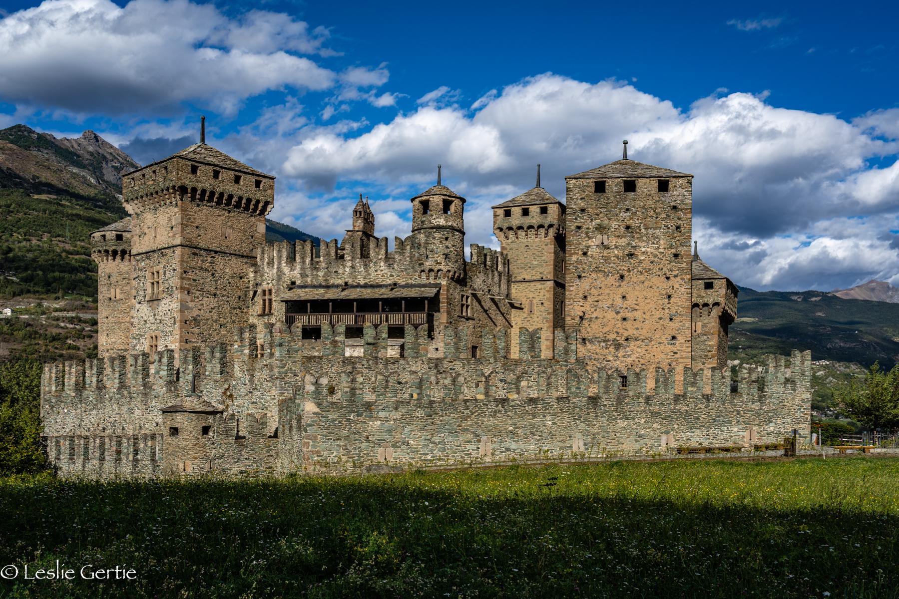 Fenis Castle, Italy-2282